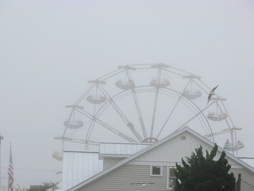 it became a foggy day at LBI