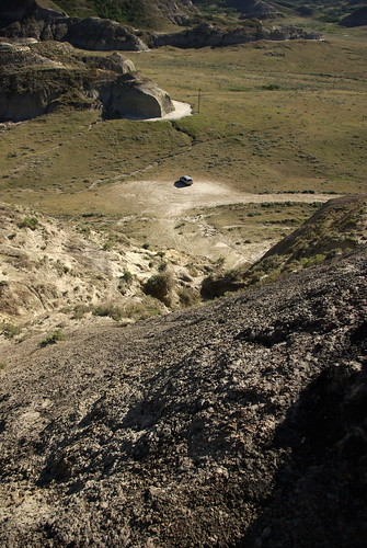 The Van from the top of Castle Butte