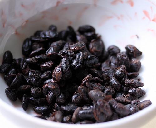 The Black (preserved black beans)
