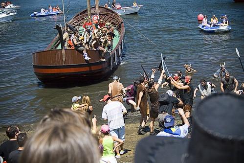 Desemabarco Vikingo