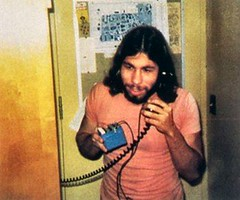 Steve Wozniak with blue box