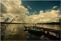 (AndreaKamal.com) Tags: summer lake clouds reflections see boat ratzeburg poseidonsdance أندرياكمال