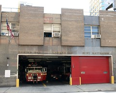 E207 FDNY Firehouse Engine 207, Ladder 110, Battalion 31 & Division 11, Fort Greene, Brooklyn, New York City (jag9889) Tags: county city nyc house ny newyork building station architecture brooklyn truck fire dc downtown 110 engine 11 company kings tigers borough ladder firehouse 31 fdny department firefighters fortgreene 207 bravest battalion engine207 tillerystreet ladder110 division11 battalion31 satellite6 e207