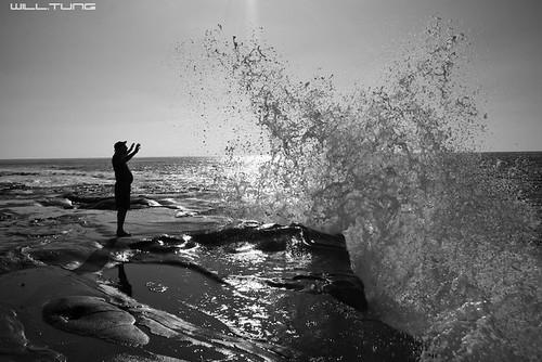 Waves Crashing @ La Jolla Cove
