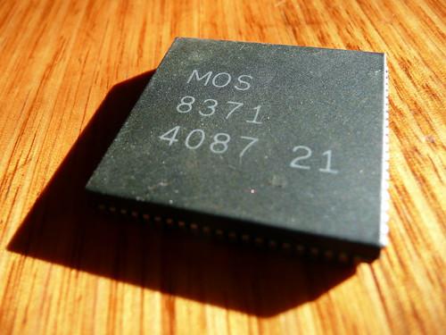 """Commodore Amiga """"Agnus"""" 8371 chip"""
