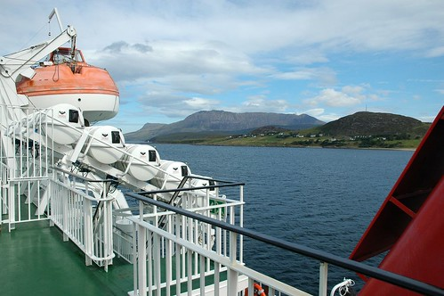 Ben More Coigach across Loch Broom