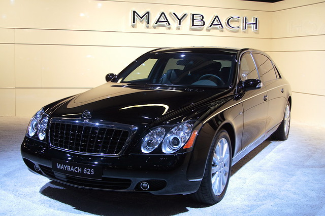 Maybach 625. Moscow International Automobile Salon - MosIAS 2008
