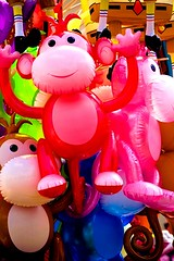 Monkey Sea - Toys At The Oregon State Fair in Salem, Oregon