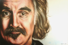 Billy Connolly finished (Mark Getty) Tags: original portrait celebrity art painting movie funny artist acrylic mark fine depthoffield canvas realist getty actor billy airbrush realism photorealism hyperrealism connolly