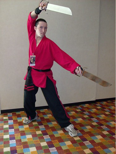 003 Anime Martial Artist