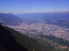 Grenoble (Frd!) Tags: blue light shadow sky urban panorama cloud sun mountain france green beautiful clouds forest grenoble landscape lights fly colours chartreuse sunny paisagem ombre bleu ciel colourful nuage nuages paysage vercors foret height hauteur lansenvercors somethingblueinmylife