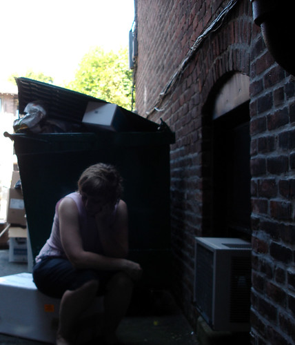 thinking beside the dumpster