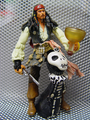 Skelly made Captain Jack mad by drinking all the rum