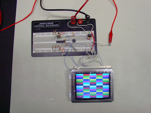PIC Microcontroller RGB Video