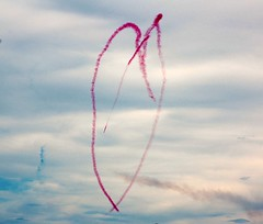 EXPLOPE #349!! With Love..........Red Arrows (Royal Air Force) Aerobatic display at annual North Coast Air Show (MarsW) Tags: ireland cielo acrobatics northernireland atlanticocean redarrows avion castlerock coantrim blueribbonwinner fineartphoto artisticexpression lifeasiseeit cherryontop platinumphoto anawesomeshot theunforgettablepictures betterthangood colondonderryderry damniwishidtakenthat throughyoureyestoours portrushairdisplay frommylens