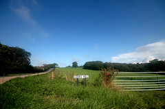 Countryside . . . (~FreeBirD~) Tags: road uk blue trees sky white green nature grass countryside gate long natural empty country hill fast peaceful mani calm guildford cooks boxhill endless freebird a29 mywinners cookshill lovemax manibabbar maniya