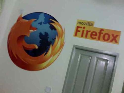 firefox wall