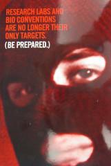 NABR Black Mask Eco-Terrorist Flier (GreenIsTheNewRed.com) Tags: scaremongering nabr