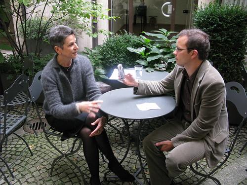 Susan Grant im Interview mit Fiete Stegers | Foto: Marco Maas