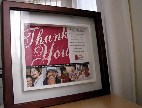 """Thank You"" From the UGM - My Blogathon Cause"