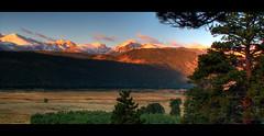 Moraine Park, Rocky Mountain National Park, CO (Jeff Beard) Tags: autumn sky mountains nature animals sunrise canon landscape dawn landscapes nationalpark colorado hdr rockymountainnationalpark 3xp jeffbeard westernlandscape 400d