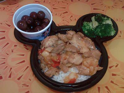 Epcot : Kids Meal from Sunshine Seasons : September 2008