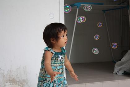 bubbles 420