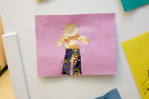Pre-School Collage Project: All About My Body
