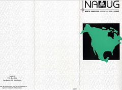 NAAUG Brochure front