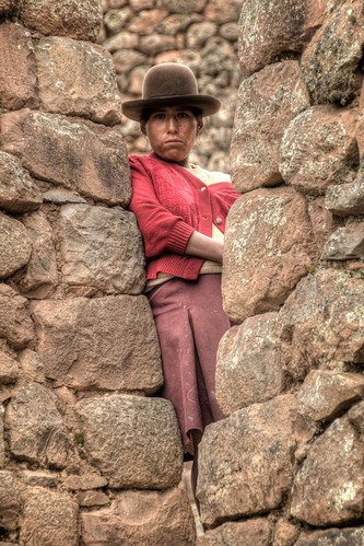 Girl in Sacred Valley