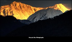 Mount Kabru at Sunrise (lighttripper) Tags: nepal india mountains sunrise peak mount himalayas sikkim yuksom yuksam kabru westsikkim kabro