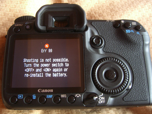 Canon Error 99