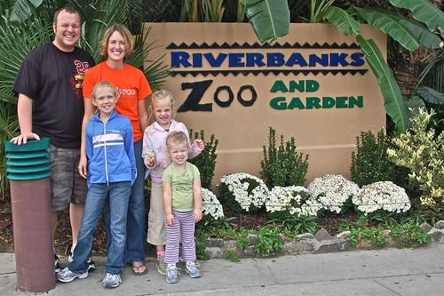 Entering zoo