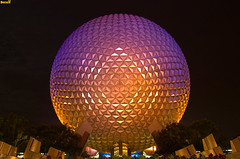 EPCOT's Spaceship Earth (Tom.Bricker) Tags: travel vacation colors architecture night america photoshop landscape orlando epcot nikon colorful raw technology unitedstates florida tripod august disney mickey disneyworld fantasy mickeymouse learning knowledge imagination pavilion characters nikkor wdw dslr waltdisneyworld figment magical iconic epcotcenter themepark informative jeremyirons waltdisney spaceshipearth worldshowcase futureworld wdi lakebuenavista imagineering colorsaturation geosphere theming disneyresort judidench nikondslr 5photosaday nikkor18200mmvrlens yearofamilliondreams nikond40 photoshopcs3 81508 frhwofavs august2008 projecttomorrow waltdisneyimagineering 8152008 wdwfigment tombricker 21stcenturybeganin1982 vacationkingdom vacationkingdomoftheworld