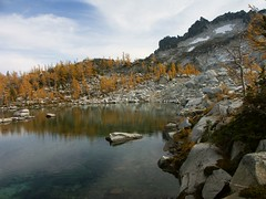 Sprite Lake and McClellan Peak