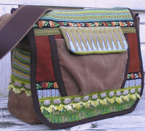 messengerbag, 'Oak leaf'