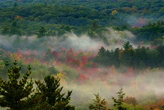 fog over valley from Appalachian Trail (johncudw2399) Tags: autumn fog orangecounty appalachain
