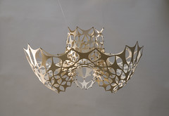 Light Modulator (LAZERIAN DESIGN) Tags: lighting sculpture art manchester design craft chandelier eco cnc flatpack plywood components madeinengland modules wingnuts modulator cncrouter designerfurniture birchplywood modernlighting ecoproducts liamhopkins designerlighting hotellighting lazerianrichardsweeney installationlighting