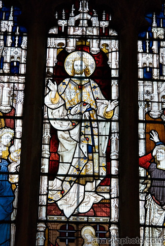 Dunster Church Stained Glass Window