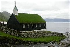 Funningur, Eysturoy (Marita Gulklett) Tags: nikond70 churches faroeislands kirkjur kirker faroes froyar eysturoy funningur funningskirkja maritagulklett