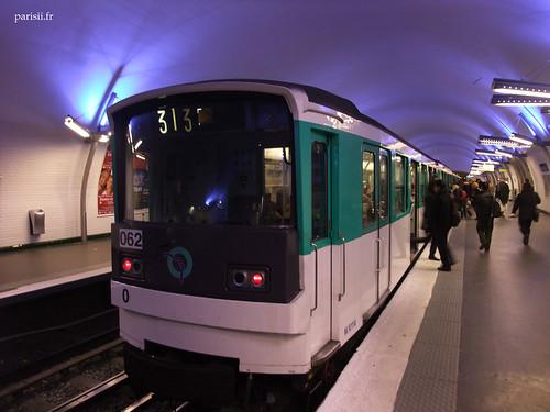 Metro de la ligne 3