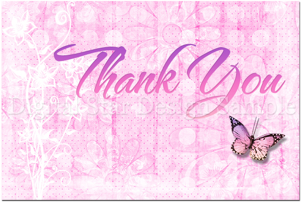 Thank You Card Sample Web