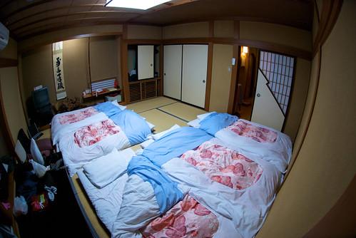 El frío río, los Ryokanes y el ardiente calor de los onsen. Minakami (1)