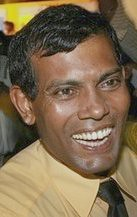 Mr. Mohamed Nasheed, the New President of Maldives  sworn in (11/11/2008) (South Asian Foreign Relations) Tags: new mr president maldives mohamed sworn nasheed