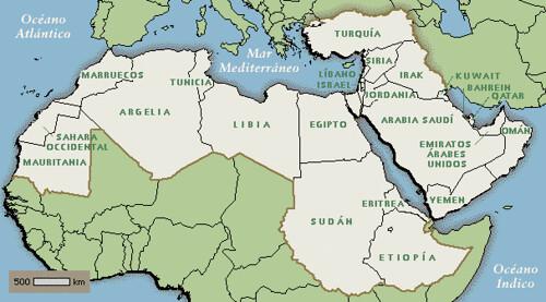 Resultado de imagen para semitas mapas