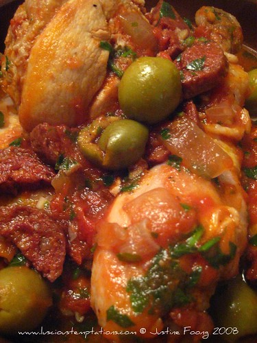 Spanish Inspired Chicken Stew