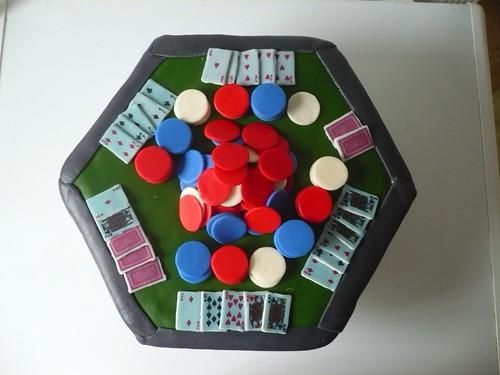 Poker Tale Cake