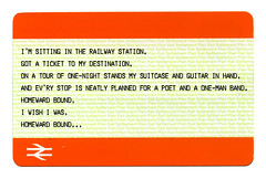 Train Ticket too by eddiemalone