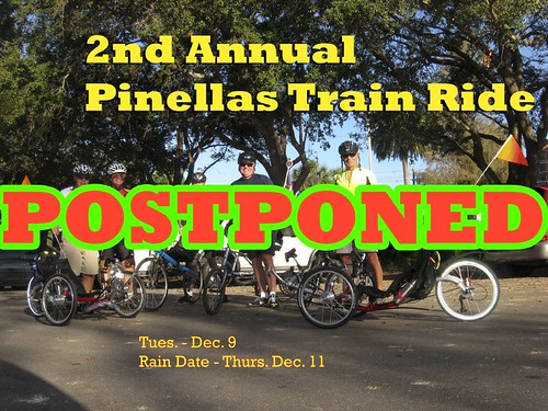 2nd Train Ride Promo postponed by you.