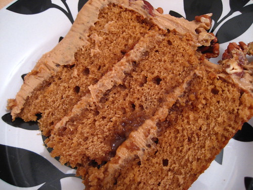 Evil Cake Lady: Butterscotch Pecan Cake